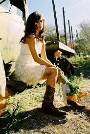 country and western dress