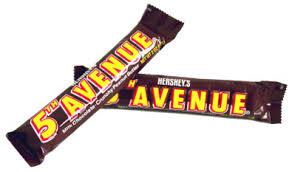 5th avenue candy bars