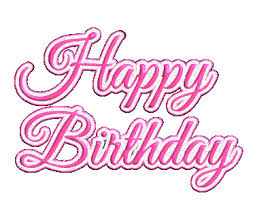 happy birthday glitter graphic