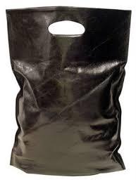 black carrier bag
