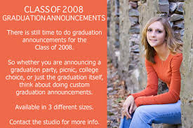 graduation announcements with pictures