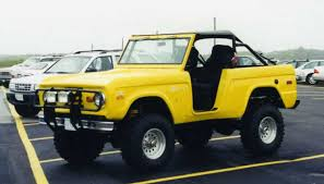 ford bronco removable top