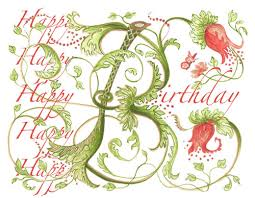 picture birthday card