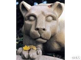 penn state lion statue
