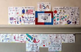 student council election posters