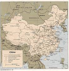historical atlas of china