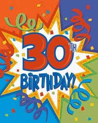 30th bday invitations