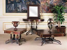 iron and wood furniture