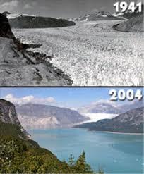 global warming melting glaciers