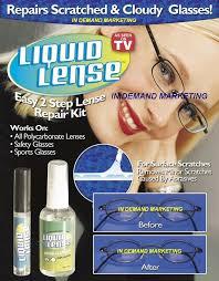 scratched lenses