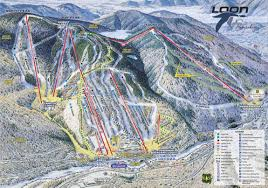 loon mountain trail map