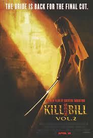 kill bill movie poster