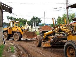 road construction pictures
