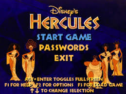 hercules action games