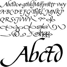 bible script font