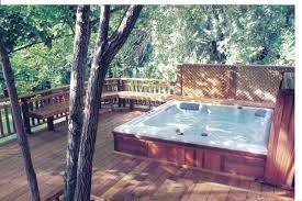 hot tubs decks