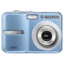 blue samsung camera