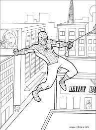 coloring spiderman