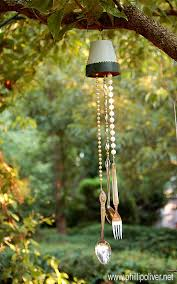 handcrafted wind chimes