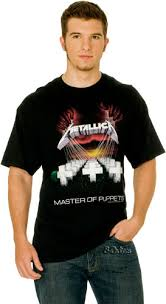 metallica master of puppets t shirt
