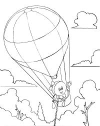 hot air balloon kids