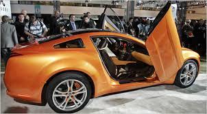 mustang concept car