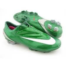 green football shoes