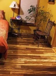 bamboo flooring bathroom