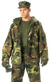 camouflage parkas