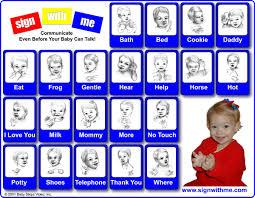 baby sign language please
