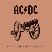 for those about to rock acdc