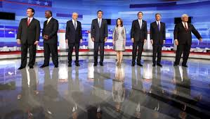 AMES, Iowa - The Republican presidential debate here Thursday night went