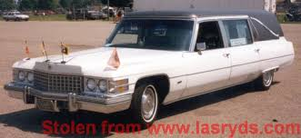 old hearses for sale