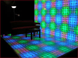 lighted dance floors
