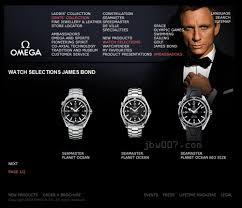 omega watches james bond