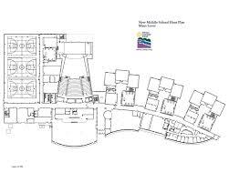 middle school floor plan