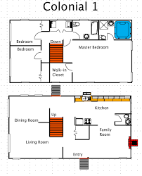 colonial house floor plans