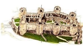 medieval castle floorplans