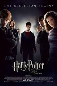 harry potter and the order of the phoenix movies