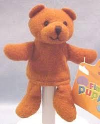 teddy bear puppet
