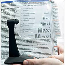 magnifiers stand