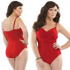 full figure swimsuit