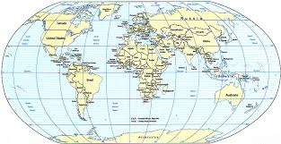 current map of the world