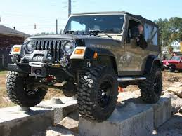 lifted jeep rubicon