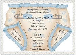 diaper shower invitation