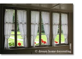 country window treatment