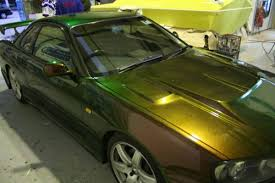 gold automotive paint
