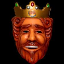 burger king head