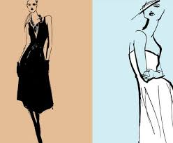 fashion designer sketch