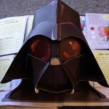 darth vader paper mask